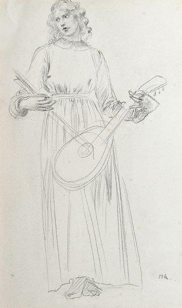 10: Augustus Edwin John- Study for Edith Lees