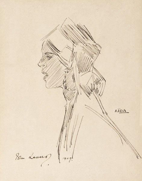 11: Sir John Lavery - Aida