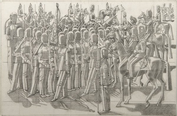 13: William Roberts - Trooping the Colour