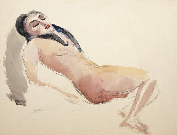 19: Sir Jacob Epstein - Reclining nude