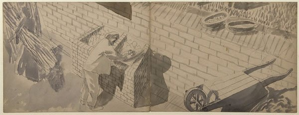 22: Sir Stanley Spencer RA - Study for painting