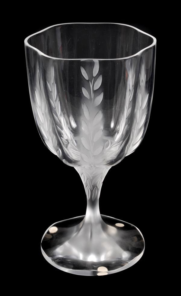 14: 'Lelia', a Cristal Lalique clear and frostedglass