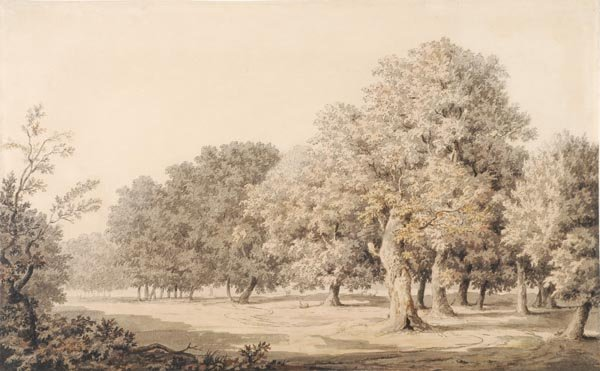 2: William Marlow (1740-1813) The Park at Windsor, Wa