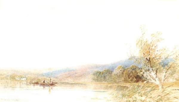 6: Cornelius Pearson (1805-1891) Figues in a boat on