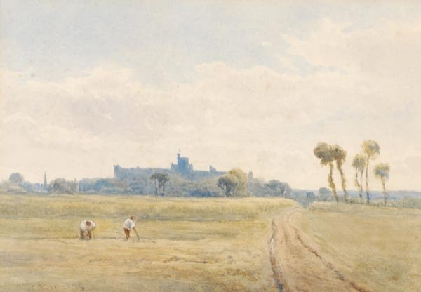 7: W. B. Pyne (fl.1878-1879) Windsor, Watercolour, Si