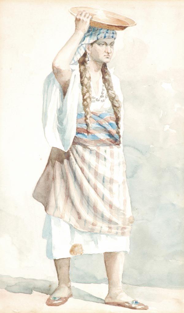 12: Greek School (19th century) A study of a Turkish S