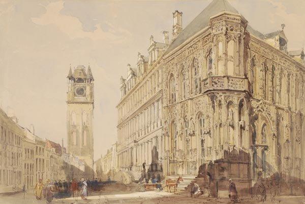 13: John Burgess Jnr. (1814-1874) The Hotel de Ville,