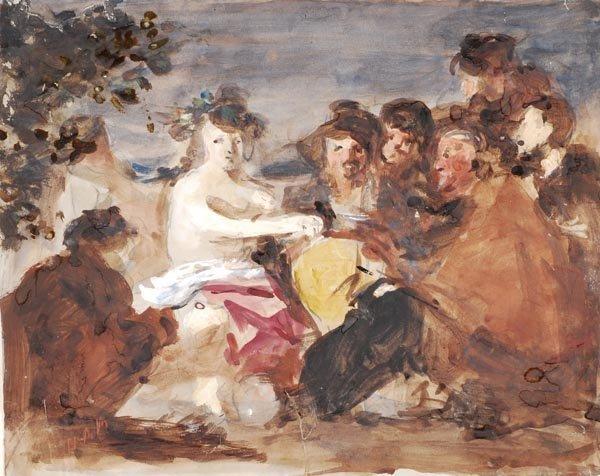 15: Hercules Brabazon Brabazon (1821-1906) Los Borrach