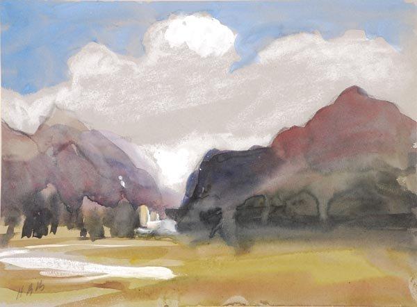19: Hercules Brabazon Brabazon (1821-1906) Rhone Valle