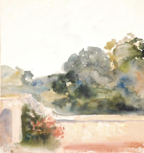 20: Hercules Brabazon Brabazon (1821-1906) Courtyard,