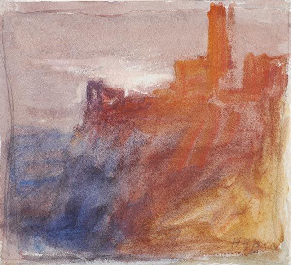 24: Hercules Brabazon Brabazon (1821-1906) Castle view