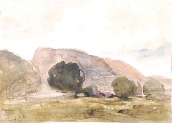 25: Hercules Brabazon Brabazon (1821-1906) Landscape (