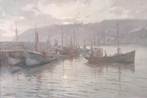 150: William Eric Thorpe (1901-1993) Brixham Harbour, E