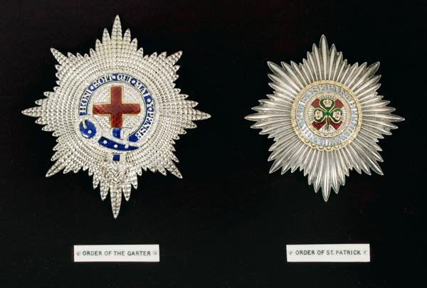 109: The Notable Order of the Garter, KG Star, a silver
