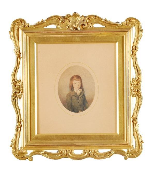 464: English School (19th century). Set of three portra
