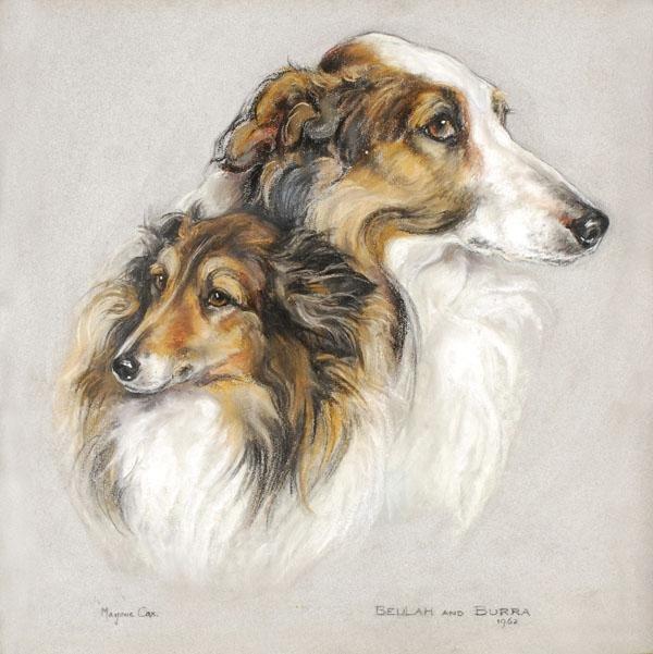 473: Marjorie Cox (1915-2003). Beulah and Burra. Doodle