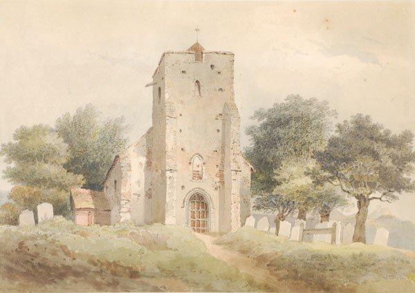 481: Circle of Thomas Hosmer Shepherd . St Michael's ch