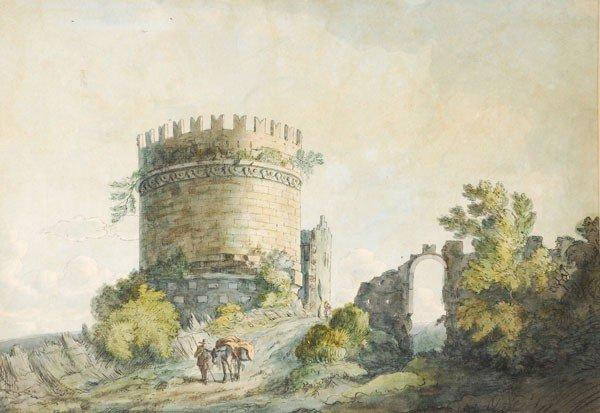 482: Attributed to Jacob Moore (1740-1793). Capo di Bov
