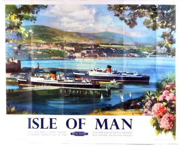 18: A British Railways poster, 'Isle of Man', 1954, by