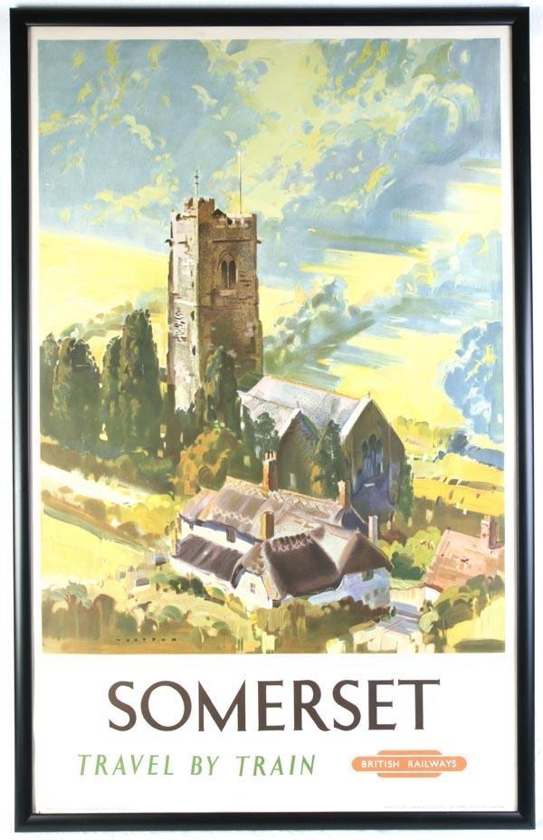 20: A British Railways poster, 'Somerset', circa 1949