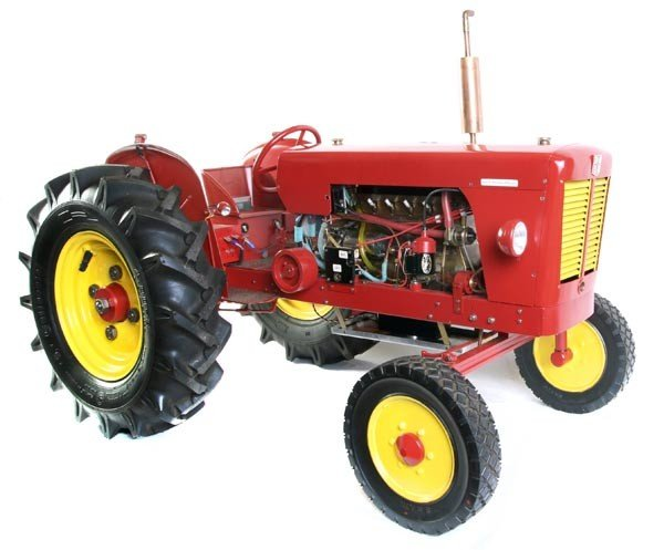 216: An exhibition model of a David Brown 990 Agricultu