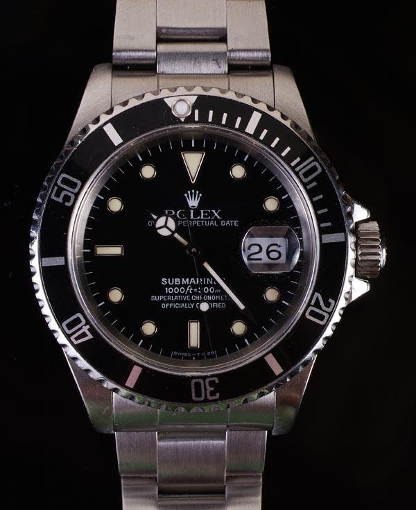 191: *Rolex, Oyster Perpetual Date Submariner, a gentle