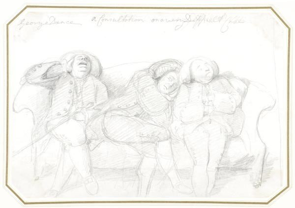 4: George Dance (1741-1825), A Consultation on a very