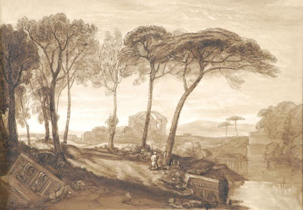 7: After Joseph Mallord William Turner, The Temple of