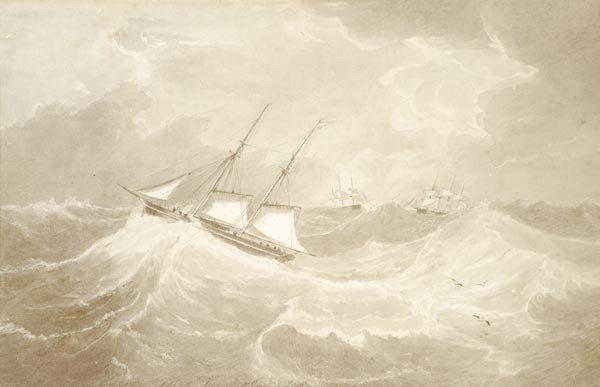 8: John Wilson Carmichael (1800-1868), Sketch made fo