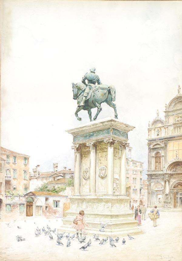 12: Rafael Senet y Perez (1856-1926), Monument before