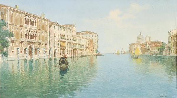 13: Eugenio Benvenuti (1881-1959), The Grand Canal, lo