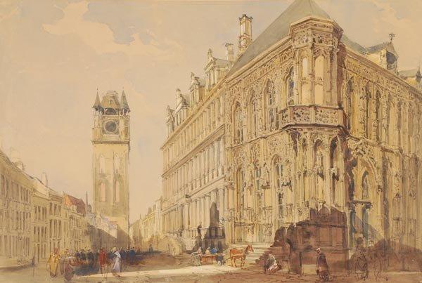 15: John Burgess Jnr. (1814-1874), The Hotel de Ville