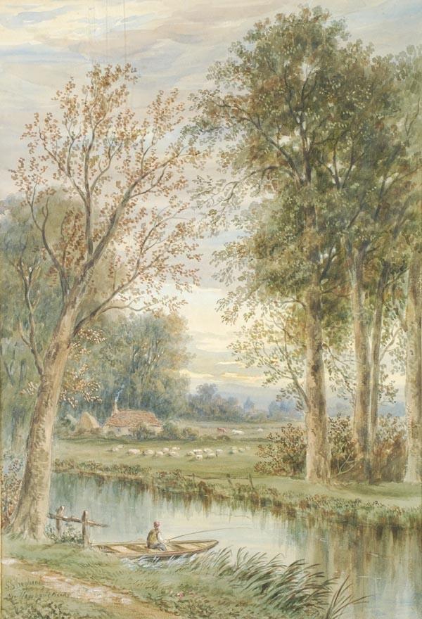 21: S** Shepherd (late 19th century), Near Newbury Ban