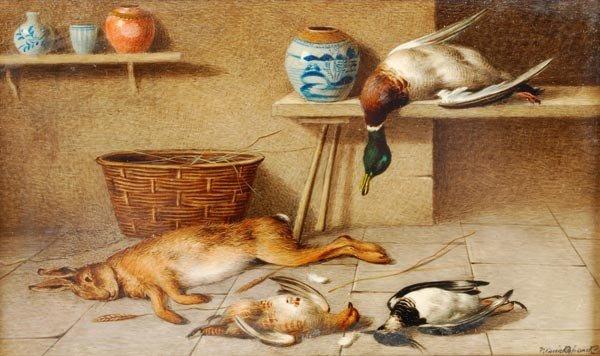 23: William Cruickshank (1848-1922), A larder still li