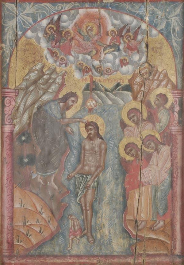 245: Greek School (18th century), An Icon depicting the