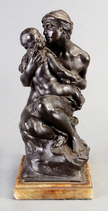 21: Alfred Drury, RA (British, 1859-1944), a bronze gr
