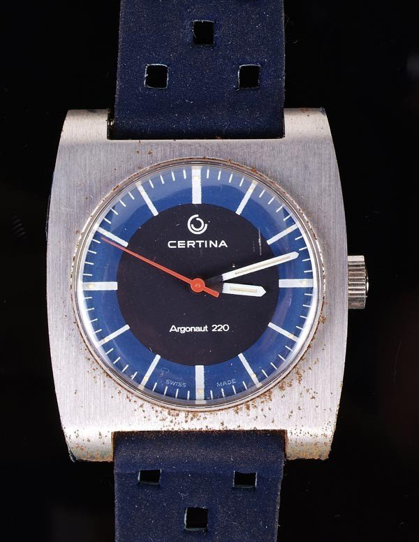 197: * Certina, Argonaut 220, a gentleman's stainless s