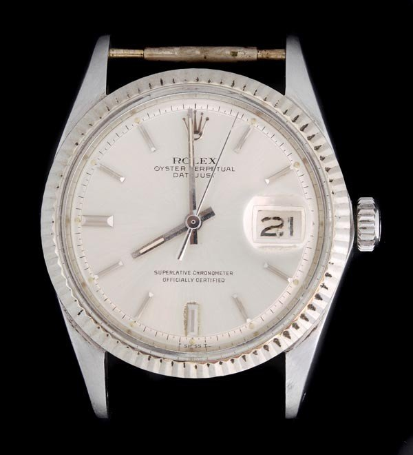 1: * Rolex, Oyster Perpetual DateJust, a mid size sta