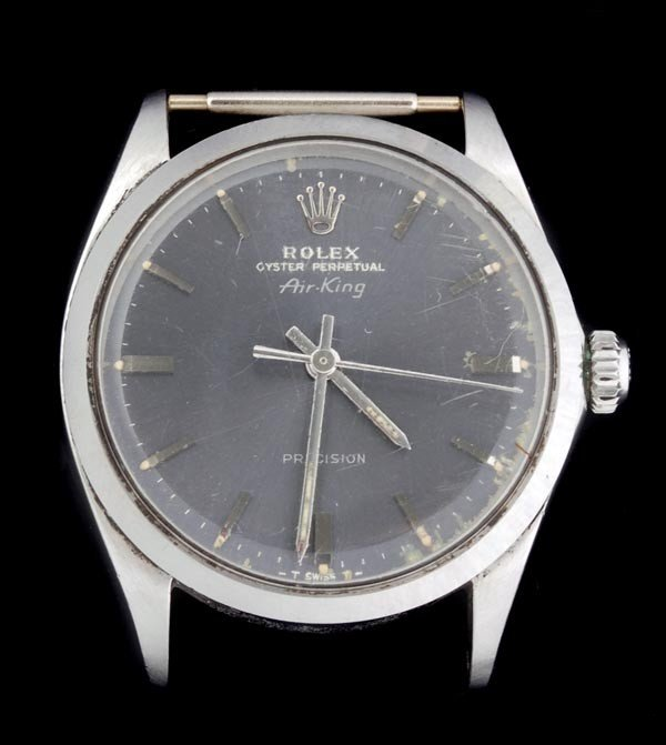 10: * Rolex, Oyster Perpetual AirKing, a gentleman's s