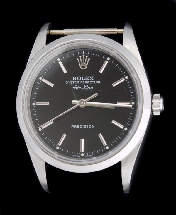 12: * Rolex, Oyster Perpetual AirKing, a gentleman's s