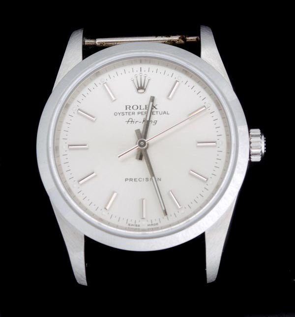 14: * Rolex, Oyster Perpetual AirKing, a gentleman's s