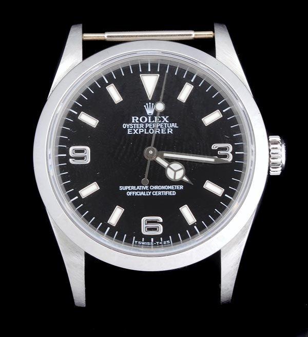 15: * Rolex, Oyster Perpetual Explorer, a gentleman's