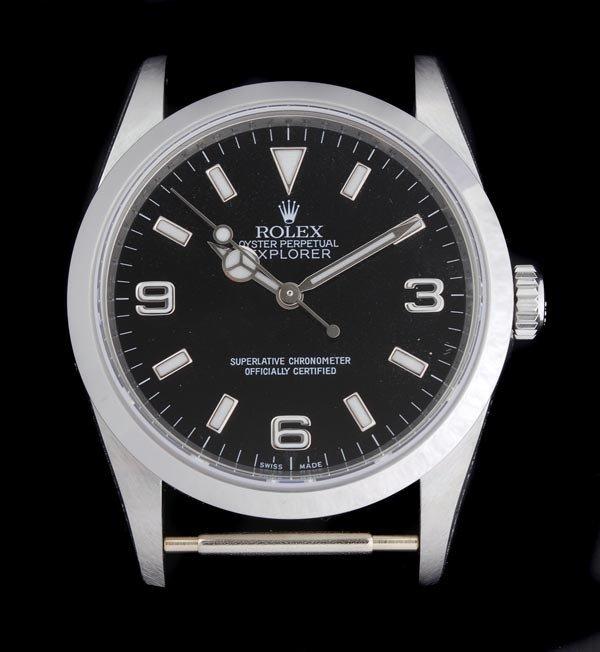 16: * Rolex, Oyster Perpetual Explorer, a gentleman's