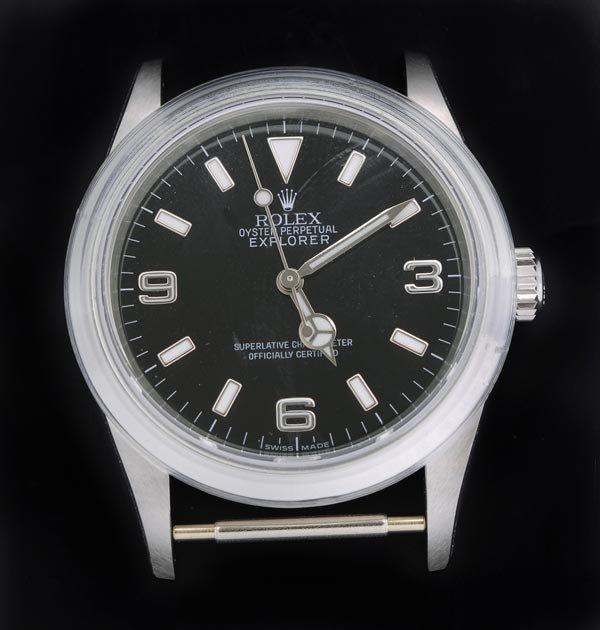 17: * Rolex, Oyster Perpetual Explorer, a gentleman's