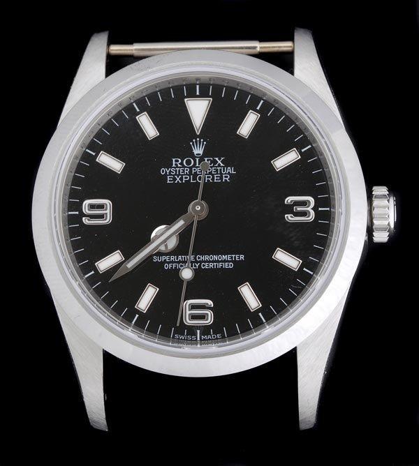 18: * Rolex, Oyster Perpetual Explorer, a gentleman's