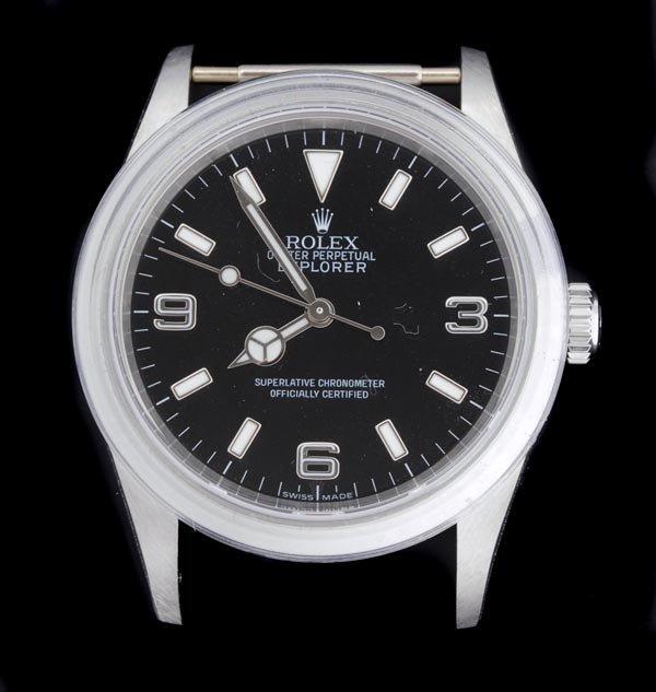 19: * Rolex, Oyster Perpetual Explorer, a gentleman's