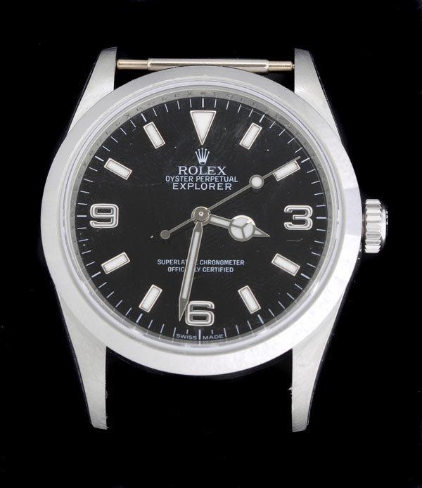 20: * Rolex, Oyster Perpetual Explorer, a gentleman's