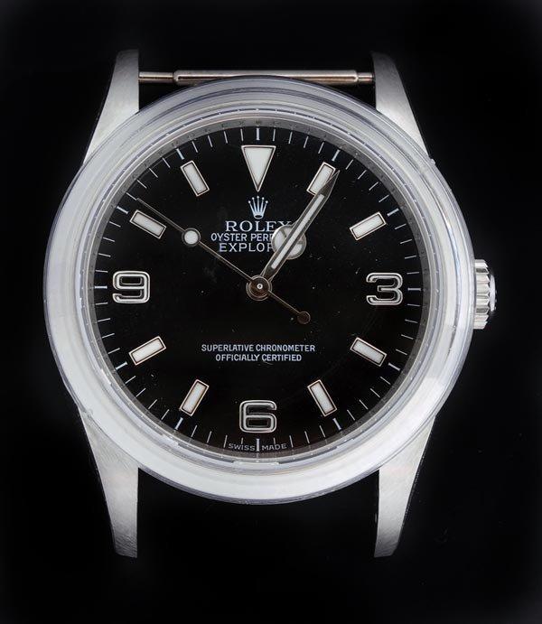 22: * Rolex, Oyster Perpetual Explorer, a gentleman's
