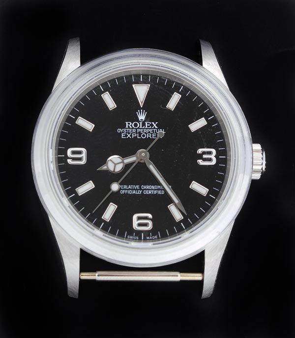 23: * Rolex, Oyster Perpetual Explorer, a gentleman's