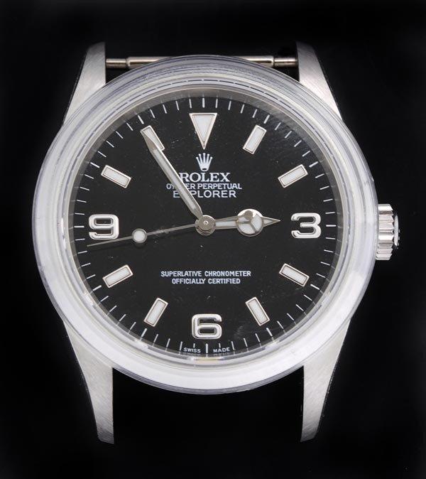 24: * Rolex, Oyster Perpetual Explorer, a gentleman's